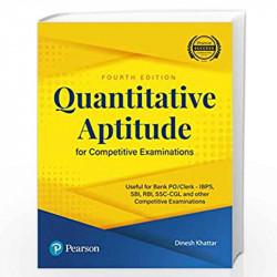 Quant Aptitude for COMP Exams 3ed by Khattar Book-9789332546998