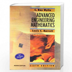ADVANCED ENGINEERING MATHEMATICS 6/E by WYLIE Book-9780070582378