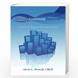 Business Continuity Essentials by Alvin L. Powell Cbcp Book-9781439209622