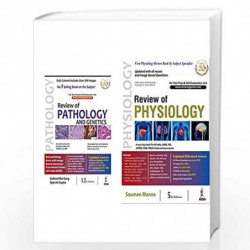 Review of Pathology and Genetics + Review of Physiology (Set of 2 Books) by GARG GOBIND RAI Book-9789389776829