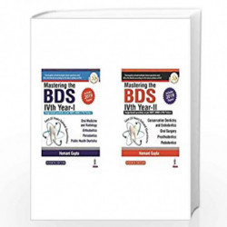 Mastering The BDS 4th Year(Last 25 Years Solved Questions)- Vol. 1 & 2 (Set of 2 books)(New Edition) by GUPTA, HEMANT Book-97893