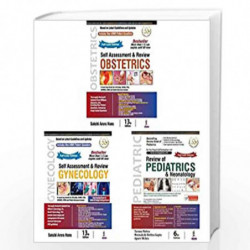 Self Assessment & Review Obstetrics + Self Assessment & Review Gynecology + Review Of Pediatrics & Neonatology (Set Of 3 Books)