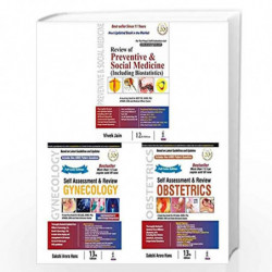 Review Of Preventive & Social Medicine (Including Biostatistics) + Self Assessment & Review Gynecology + Self Assessment & Revie