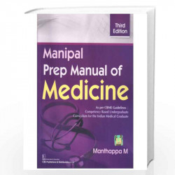 Manipal Prep Manual of Medicine by Manthappa M. Book-9788123929507