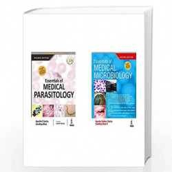 Essentials of Medical Parasitology + Essentials of Medical Microbiology (Set of 2 Books) by SASTRY APURBA SANKAR Book-9789352704