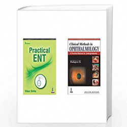 Practical Ent + Clinical Methods In Ophthalmology: A Practical Manual For Medical Students (Set of 2 Books) by SINHA VIKAS Book-