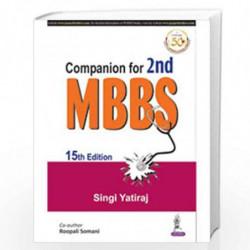 Companion for 2nd MBBS by YATIRAJ, SINGI Book-9789389776515