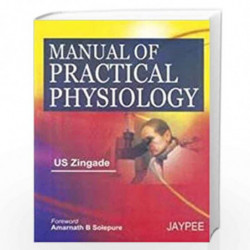 Manual Of Practical Physiology by ZINGADE Book-9788184481471