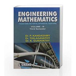 Engineering Mathematics - Vol. 3 (Tamil Nadu) by P. Kandasamy Book-8121911435