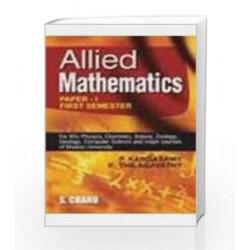 Allied Mathematics by Kandasamy P. Book-8121923239