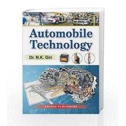 Automobile Technology by N K Giri Book-8174091785