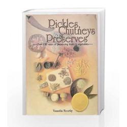 Pickles, Chutneys and Preserves by Vasantha Moorthy Book-8174761942