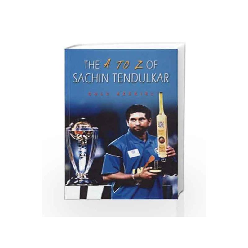 The A-Z of Sachin Tendulkar by BESTERFILED Book-8174765301