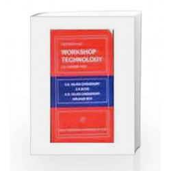 Elements Of Workshop Technology Vol 2 Machine Tools by Choudhury S K Book-8185099154