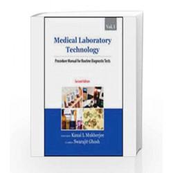 Medical Laboratory Technology (Volume I): Procedure Manual for Routine Diagnostic Tests by Kanai, L Mukherjee Book-9780070076594