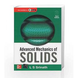 Advanced Mechanics of Solids by L Srinath Book-9780070139886