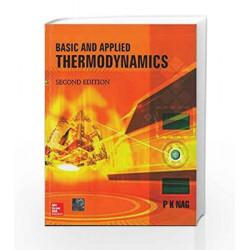Basic & Applied Thermodynamics by P Nag Book-9780070151314