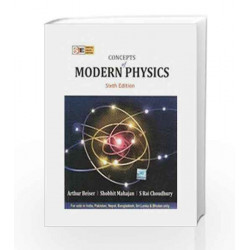 Concepts of Modern Physics: Special Indian Edition (Old Edition) by Arthur Beiser Book-9780070151550