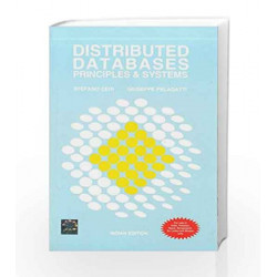 Distributed Databases:Principles and Systems by Stefano Ceri Book-9780070265110