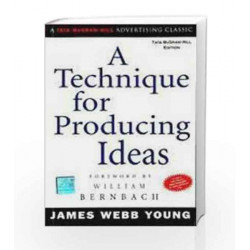 A Technique for Producing Ideas by James Young Book-9780070590311