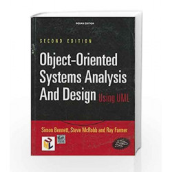 Object - Oriented Systems Analysis and Design Using Uml by Simon Bennett Book-9780070597914