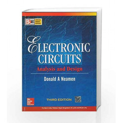 electronic circuits analysis and design (sie) by donald neamen buyelectronic circuits analysis and design (sie) by donald neamen book 9780070634336
