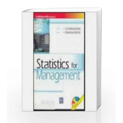 Statistics For Management by T. Srivastava Book-9780070660298