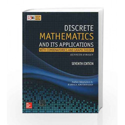 Discrete Mathematics and Its Applications (SIE) by Kenneth Rosen Book-9780070681880