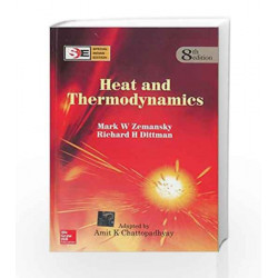 Heat and Thermodynamics - SIE by Mark Zemansky Book-9780070700352