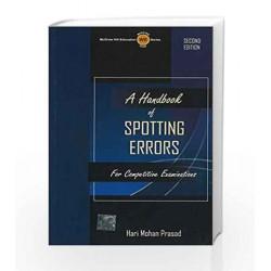 A Handbook of Spotting Errors by Hari Prasad Book-9780070704893