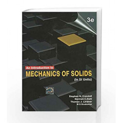 An Introduction to Mechanics of Solids (In SI Units) by CRANDALL Book-9780071070034