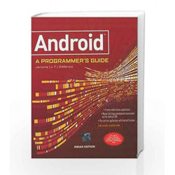 ANDROID A PROGRAMMERS GUIDE by J.F. Dimarzio Book-9780071070591