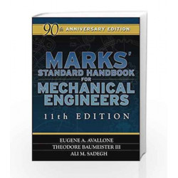 Marks\' Standard Handbook for Mechanical Engineers by Eugene A. Avallone Book-9780071428675
