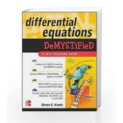 Differential Equations Demystified by N.A. Book-9780071440257