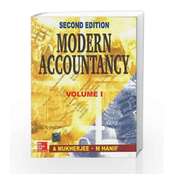 MODERN ACCOUTANCY-VOL I by Amitabha Mukherjee Book-9780074630174