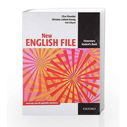 New English File: Elementary. Student\'s Booksix-Level General Eng.Course for Adults by TIMOSHENKO Book-9780194384254