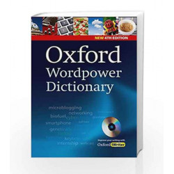 Oxford Word power Dictionary (with CD ROM) by G.K. Book-9780194398237
