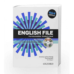 English File third edition: Pre-intermediate: Student\'s Book with iTutor and Online Skills by Koenig Oxenden Book-9780194517942