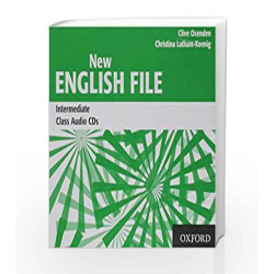New English File: Intermediate: Class Audio CDs (3) by Clive Oxenden Book-9780194518093