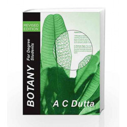 Botany for Degree Students by Dutta  A. C. Book-9780195637489