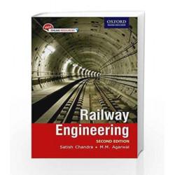 Railway Engineering by Satish Chandra Book-9780198083535