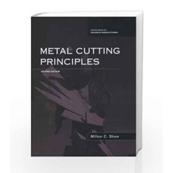 Metal Cutting Principles by Shaw Book-9780198086116