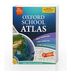 Oxford School Atlas by OUP Book-9780198098508
