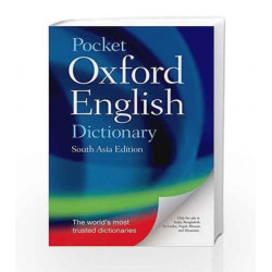 Pocket Oxford English Dictionary by G.K. Book-9780198700982