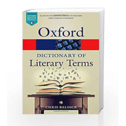 The Oxford Dictionary of Literary Terms (Oxford Quick Reference) by STIEL Book-9780198715443