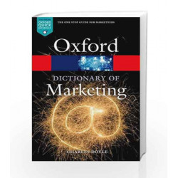 A Dictionary of Marketing (Oxford Quick Reference) by Charles Doyle Book-9780198736424