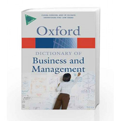 A Dictionary of Business and Management (Oxford Quick Reference) by Jonathan Law Book-9780199234899