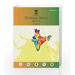 Economic Survey 2015-2016 (Two-Volume Set) by Ministry Of Finance Book-9780199469284