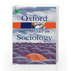 A Dictionary of Sociology (Oxford Paperback Reference) by GK Book-9780199533008