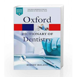 A Dictionary of Dentistry (Oxford Quick Reference) by G.K Book-9780199533015